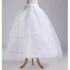 Da sposa sottoveste Standard Tre cerchi Stringa Abito da sposa Regolabile