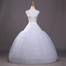 Da sposa sottoveste Sei cerchi Elegante Net forte Espandere Regolabile