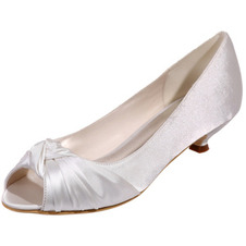 Scarpe da sposa pesce bocca scarpe da sposa in raso scarpe da festa