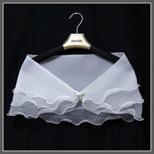 Scialle da sposa Floreale di cristallo pin Estate Triangolo Sottile