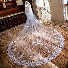 Velo da sposa lungo velo di pizzo velo da sposa velo all'ingrosso