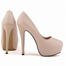 Scarpe da sposa impermeabili tacco alto stile moda 14 cm