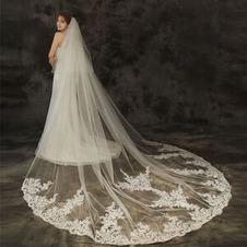 Abito da sposa in pizzo con velo da sposa copricapo da sposa in pizzo velo accessori da sposa