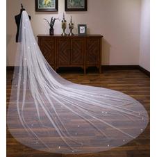 Velo lucido velo lungo extra lungo velo da sposa di lusso 4M