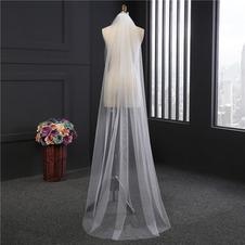 2M lungo velo semplice velo insieme morbido velo netto accessori da sposa velo