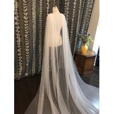 3M velo di scialle in tulle semplice mantello da velo da sposa