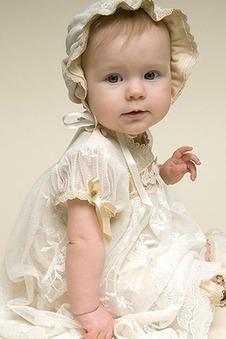 Abito cerimonia bambina Farfalla Ornamento Primavera Tipo standard Fiocco tessuto
