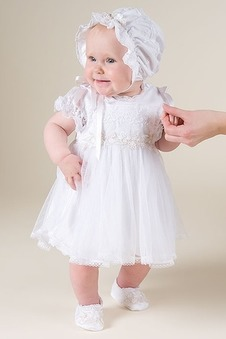 Abito cerimonia bambina Alta Coperta Non Specificato Principessa Primavera
