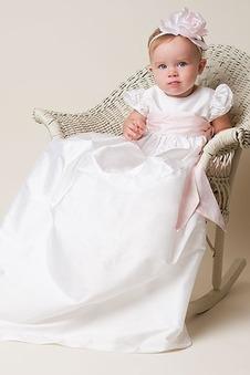 Abito cerimonia bambina Alta Coperta decorato Fiore Principessa Primavera alta vita/cintola