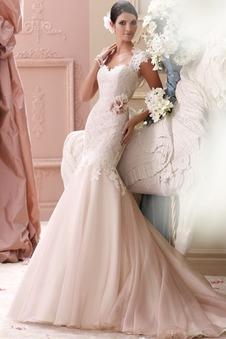 Abito da sposa Pizzo Cappellini Formale Sirena Senza schienale All Aperto