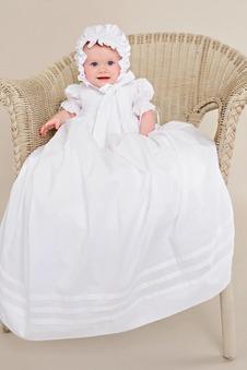 Abito cerimonia bambina Tipo standard decorato Lungo Lanterna Principessa Naturale