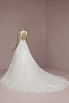 Abito da sposa All Aperto Lace Coperta Autunno trendiness a linea