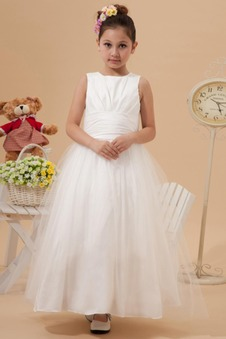 Abito cerimonia bambina T luce Autunno Bianco Romantici Tipo standard 14 Anno vecchio