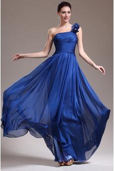 Abito da sera moda 2015 A Terra Un Fiore Strap Collo drappeggiato