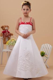 53f0e8261a51 Abito cerimonia bambina Magro Perline Semplici Mezza Coperta Naturale 14  Anno vecchio ...