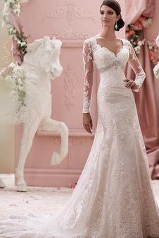 Abito da sposa Inverno Sirena gonna a vita alta gonna Impero Alta Coperta  ... b63cd4f0e01