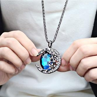 Prodotto nuovo donne collana cristallo lega gioielli retrò & pendente della collana - Pagina 3