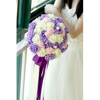 La sposa tiene un studio riprese puntelli mazzo tiffany blu bianco verde fiffany - Pagina 4