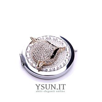 Grado superiore bifronte il fascino pieghevole intarsiato con diamanti ornamento piccolo Business - Pagina 3