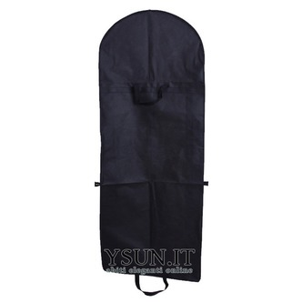 Tessuto non tessuto nero e vestito grande copertura sacchetto pieghevole Abito da sposa - Pagina 1