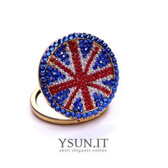 Bandiera nazionale all'ingrosso portatile intarsiato doppia parola diamante piccolo ornamento - Pagina 1