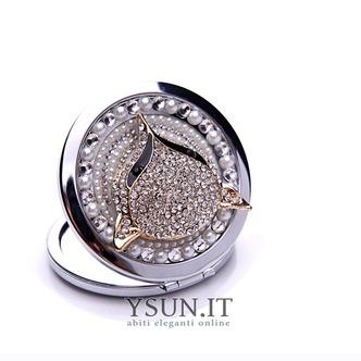 Grado superiore bifronte il fascino pieghevole intarsiato con diamanti ornamento piccolo Business - Pagina 1