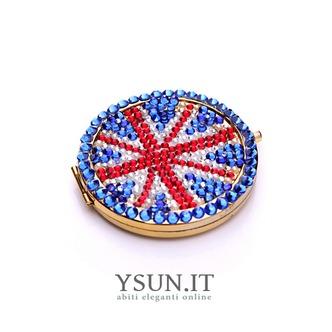 Bandiera nazionale all'ingrosso portatile intarsiato doppia parola diamante piccolo ornamento - Pagina 2