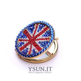 Bandiera nazionale all'ingrosso portatile intarsiato doppia parola diamante piccolo ornamento - Pagina 3
