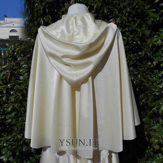 Cappotto scialle da sposa scialle con cappuccio accessori da sposa - Pagina 4