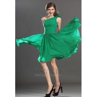 Vestito laurea Un Fiore Strap Clessidra Senza Maniche al ginocchio - Pagina 4