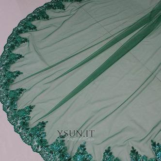 Velo da sposa verde velo da sposa musulmano velo da viso 3M - Pagina 5