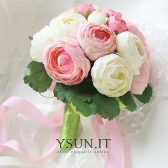 Bouquet di fiori a mano semplice diamante perla atmosferica una matrona d'onore - Pagina 3