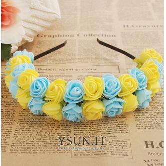 Multicolor bambini viaggio nozze abito capelli headwear capelli cerchio delle ragazze - Pagina 4