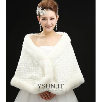 Scialle da sposa all'aperto Bianco trendiness Floreale di cristallo pin - Pagina 2