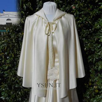 Cappotto scialle da sposa scialle con cappuccio accessori da sposa - Pagina 3