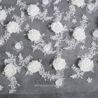 Sposa velo retrò matrimonio finale velo lungo velo di fiori - Pagina 3