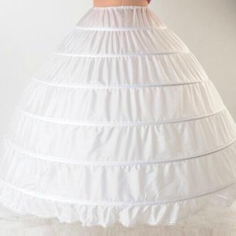Da sposa sottoveste Espandere Lungo Nuovo stile Sei cerchi Taffetà di poliestere - Pagina 3