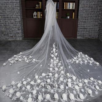 Sposa velo retrò matrimonio finale velo lungo velo di fiori - Pagina 2