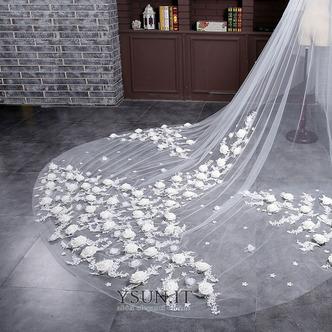 Sposa velo retrò matrimonio finale velo lungo velo di fiori - Pagina 4