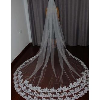 3M velo da sposa vintage cattedrale velo velo pettine velo da sposa di lusso velo da sposa - Pagina 1