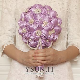 Tema viola personalizzato di High-end wedding bouquet da sposa - Pagina 2