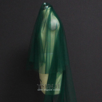 Velo da sposa verde velo da sposa musulmano velo da viso 3M - Pagina 4