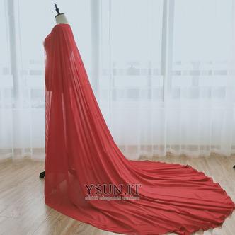 Scialle in chiffon scialle semplice da sposa scialle elegante lungo 2M - Pagina 9