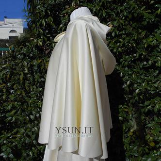 Cappotto scialle da sposa scialle con cappuccio accessori da sposa - Pagina 2