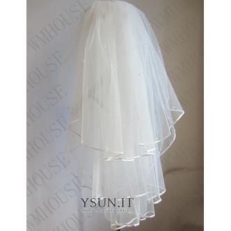 Velo da sposa 3 strati velo da sposa soffice velo da sposa velo corto - Pagina 1