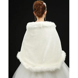 Scialle da sposa Spessore Autunno Senza Maniche Lungo Floreale di cristallo pin - Pagina 3