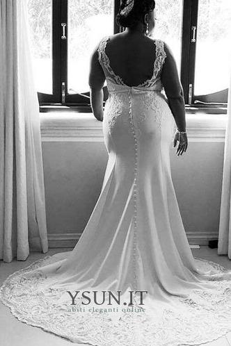Abito da sposa Sirena in pizzo Sexy Naturale Lace Coperta T luce - Pagina 5