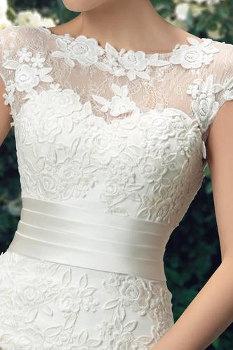 Abito da sposa Pizzo Naturale trendiness Tubino Rosetta accentato - Pagina 6
