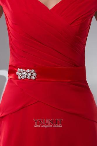 Abito da sera Collare di spalla borsa Formale Perline A Terra Cappellini - Pagina 4