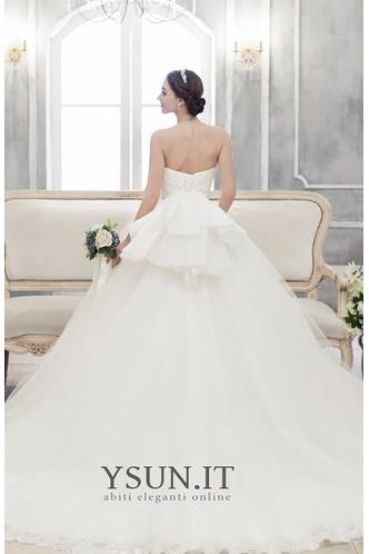Abito da sposa senza spalline Non Specificato Lungo Farfalla Ornamento - Pagina 2